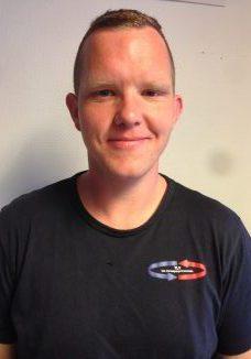 Christer Hansen. Varmepumpe montør med F-gass sertifisering kategori II
